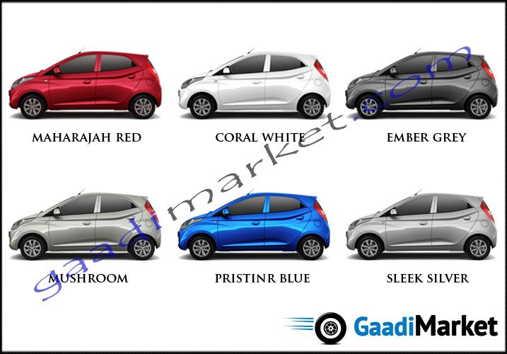 Eon Colours Hyundai Colour Options Pinterest