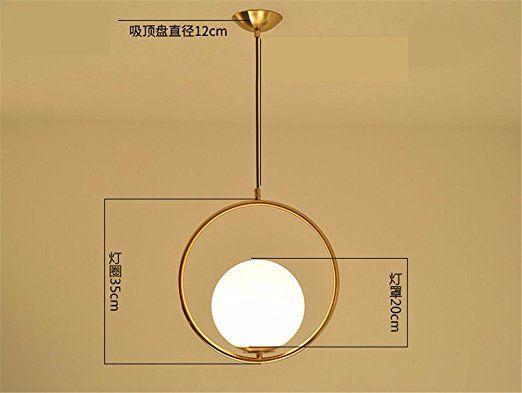 SKIOM LOFT Die Nordischen Minimalistisch Modern Creative Gold Glas - kronleuchter modern schlafzimmer