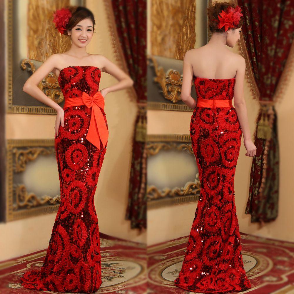Off white plus size tube dresses evening dress long dress royal