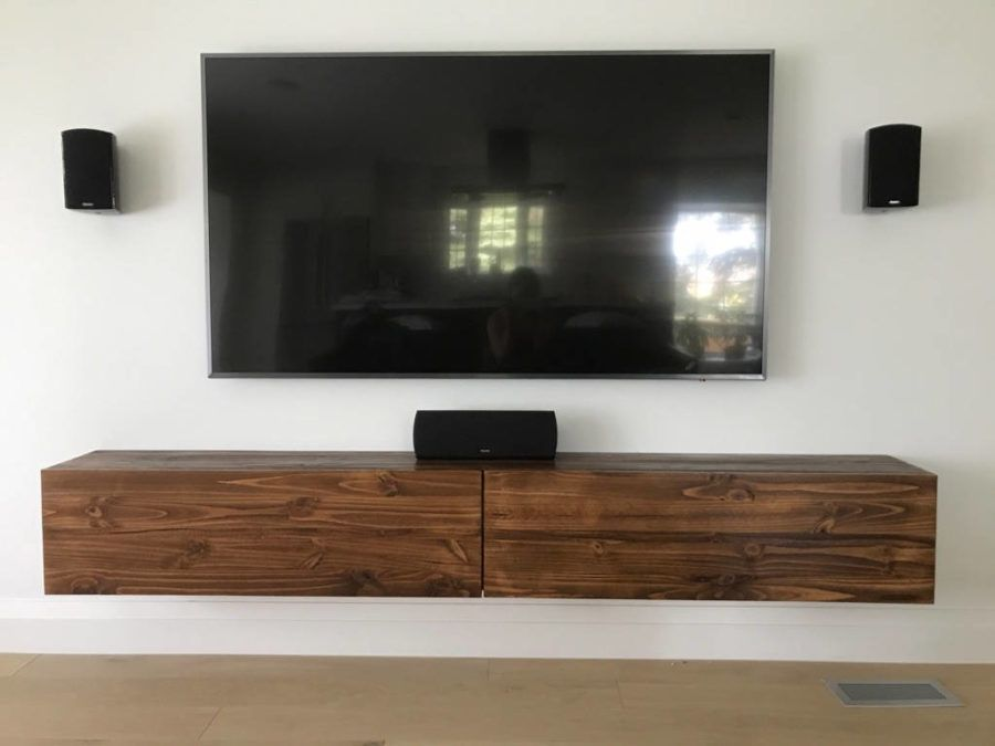 15 Floating Tv Stands For Your Modern Living Room Floating Tv