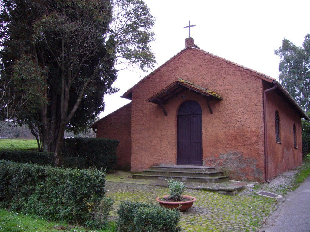 Chiesetta di San Tarcisio, Rome, Italy houses the remains of St. Tarcisius who was a Martyr for the Eucharist in 257 AD.