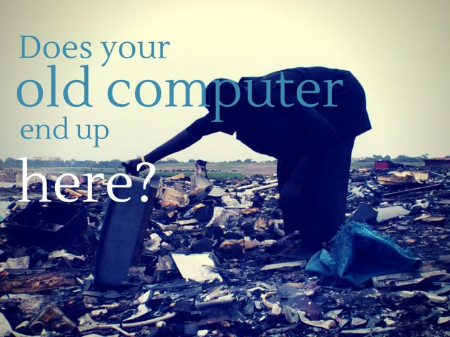 Despite laws & activism, the old computer that you recycled responsibly may still end up in the developing world, according to the film Terra Blight.