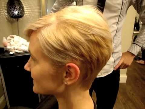 Corte cabello corto para mujer paso paso