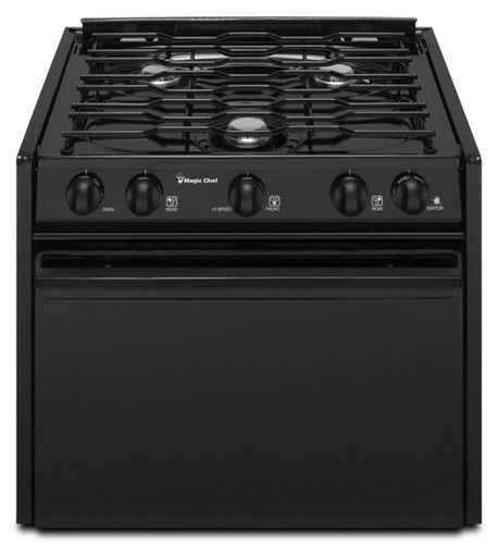 Magic Chef CLY1620BDB Range Oven Black 16