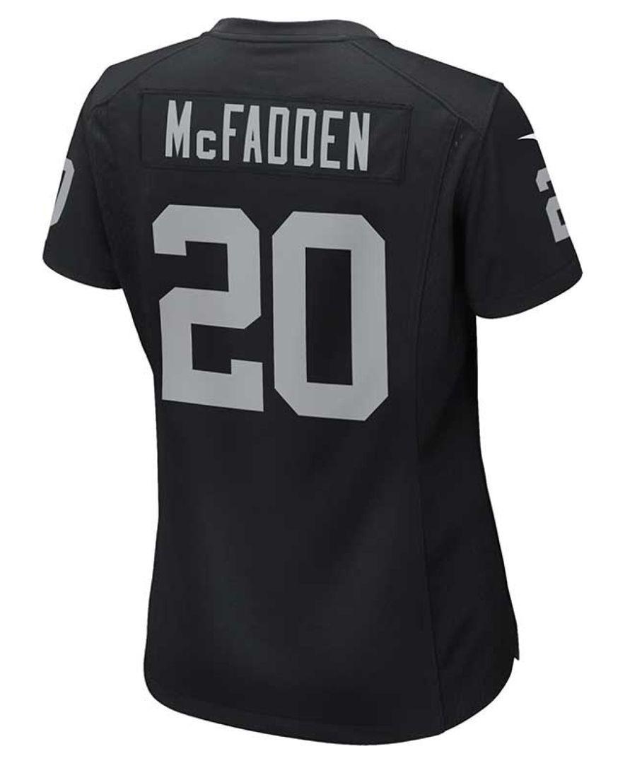 913876ce Nike Women's Darren McFadden Oakland Raiders Game Jersey   Oakland ...