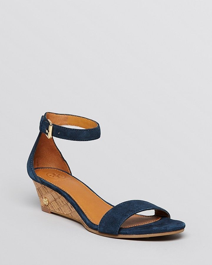 edff418153d Tory Burch Wedge Sandals - Savannah Cork on shopstyle.com