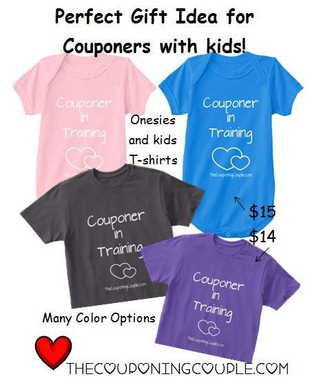 Couponer In Training Shirts and Onesies! Oh my goodness how cute with your future couponer in tow while you shop!  Click the link below to get all of the details ► http://www.thecouponingcouple.com/kids-couponing-shirts-and-onesies-couponer-in-training/  #Coupons #Couponing #CouponCommunity Visit us at http://www.thecouponingcouple.com for more great posts!