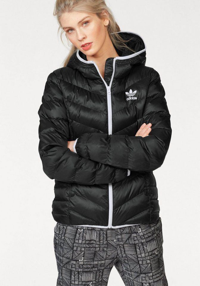 reliable quality cute cheap sale adidas Originals Steppjacke »JUNIOR TREFOIL MID STRIPES ...