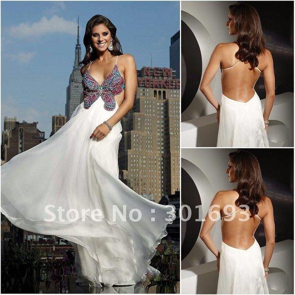 Terani Butterfly Prom Dress