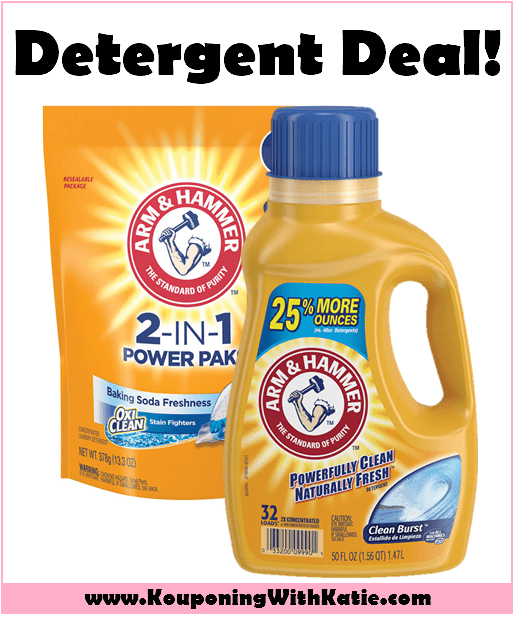 Stock Up On Arm Hammer Laundry Detergent For Just 1 87
