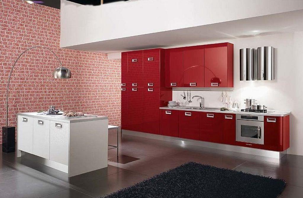 Kitchen Color Decorating Ideas red-color-kitchen-decorating-design-ideas-3 1,024×669 pixels