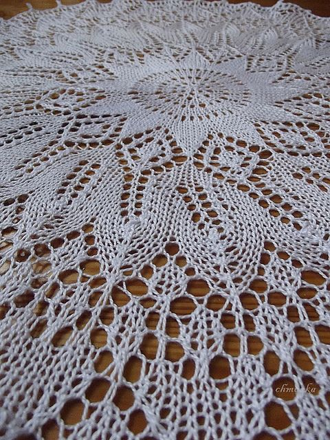Knitted Doily My Knitting Lace Pinterest Crochet Tricot And