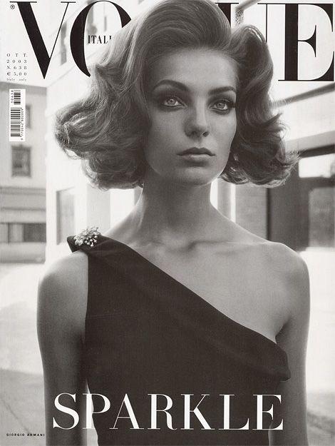 M<3 Vogue Italia: Sparkle   cover 2003