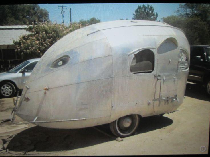 Even Caravans Got the Art Deco style in the 30's