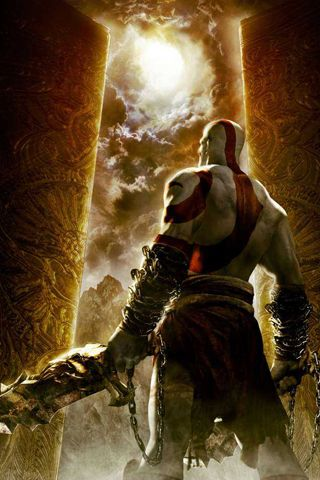 God Of War Iphone Wallpaper Kratos God Of War God Of War God
