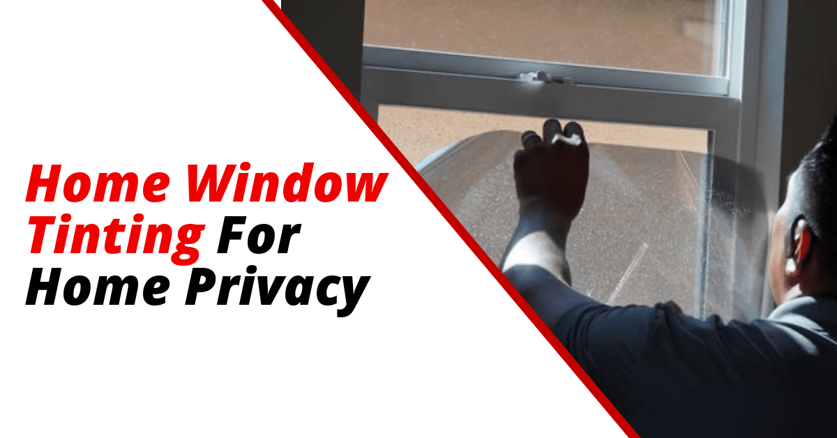 Home Window Tinting For Privacy In San Diego Ca Tinted House Windows Tinted Windows Commercial Window Tinting