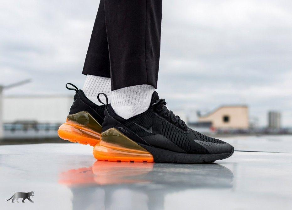 Nike Air Max 270 Tonal Orange | Nike air max, Nike air, Neue