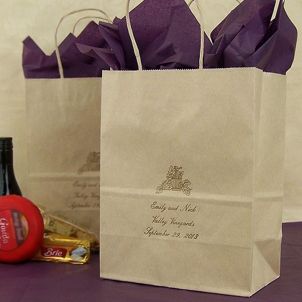 Personalized Wedding Gift Bags For Guests : wedding gift bags diy wedding wedding favors rustic wedding dream ...