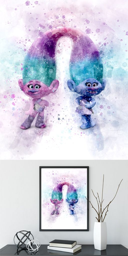 Trolls Bedroom Ideas: Trolls Satin And Chenille, Trolls Poster, Trolls Satin