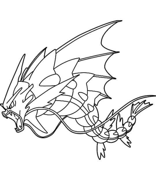 Dibujos Para Colorear De Pokemon X Y Mega Evoluciones