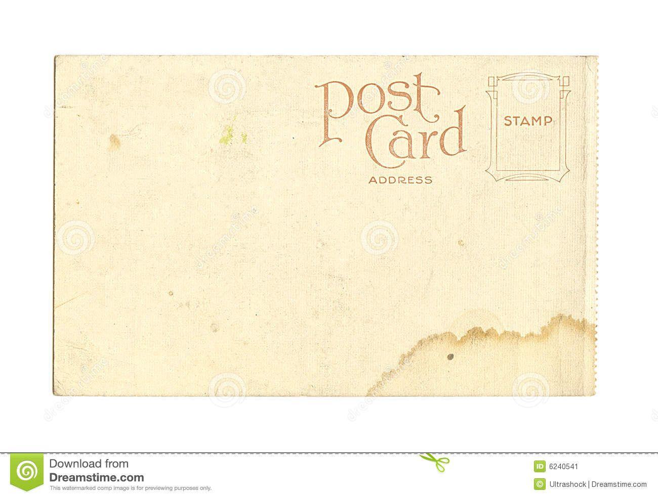 old vintage blank postcard 1870 s design pinterest vintage