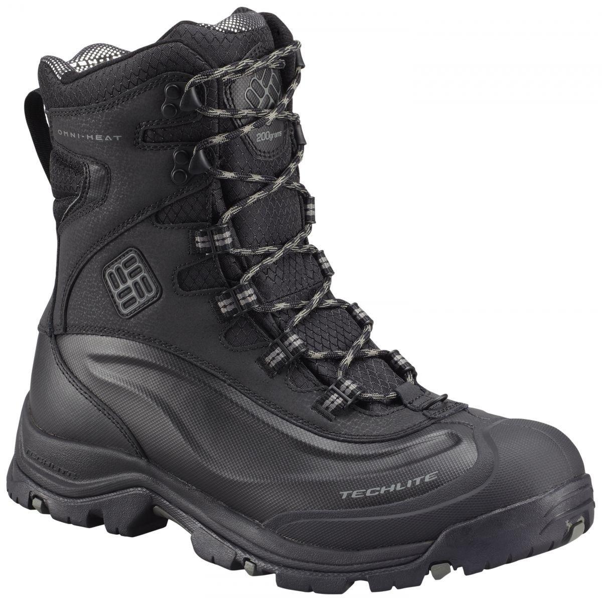 cba26041dbe Bugaboot Plus Iii Boots Omni-heat Men, Black / Charcoal - Taille ...