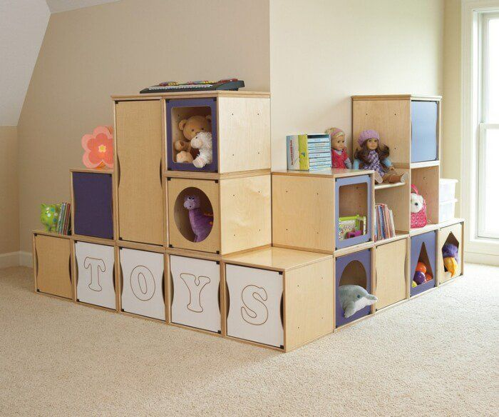 meuble rangement enfant pour instaurer lordre avec du got - Meuble De Rangement Chambre