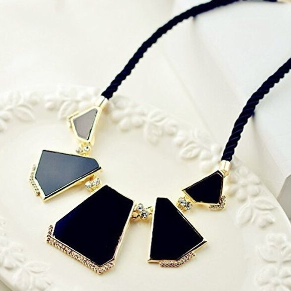 Black bubble necklace Chain length 420-480 mm. Pendant size 140 mm Jewelry Necklaces