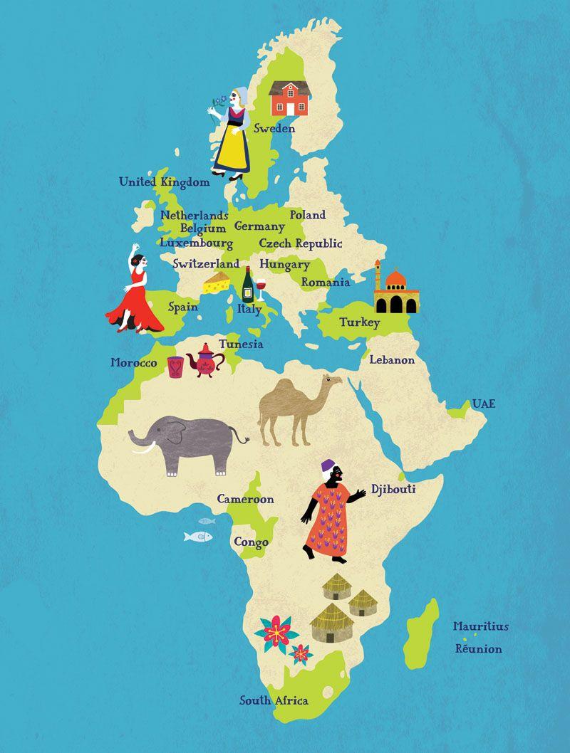 Pin Von Mashimaro Auf Illustrated Maps Illustrierte Karten Reisebericht Barbados