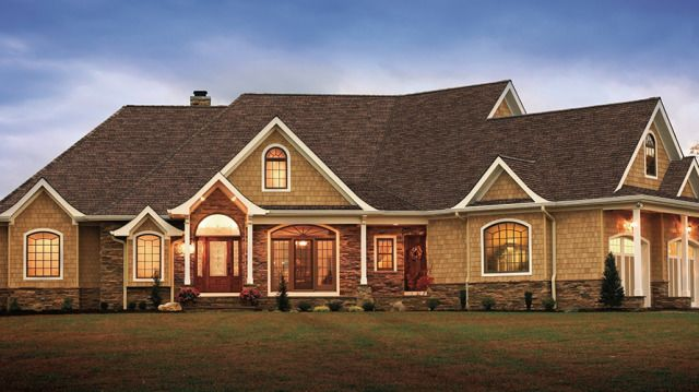 Gaf Introduces Its Glenwood Shingle A Triple Layer Asphalt Shingle With The Dimensional Look Of Real Wood Shake Descrip Roof Cost Roofing Roofing Contractors