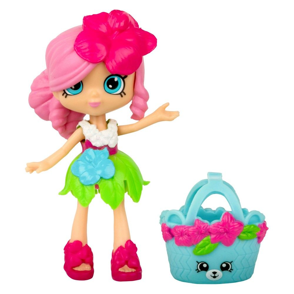 Happy Places Shopkins Lil Shoppie Doll Isla Hibiscus Shopkins Happy Places Little Girl Toys Shopkins And Shoppies