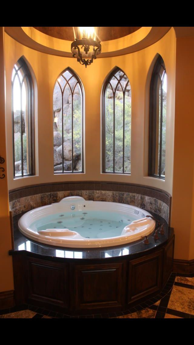 Custom #gothic #homes #spa #bath #GothicHomeDécor, #GothicHomeDecor ...
