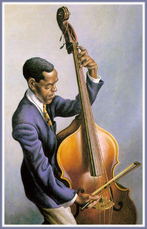 Portrait of a Musician  Thomas Hart Benton