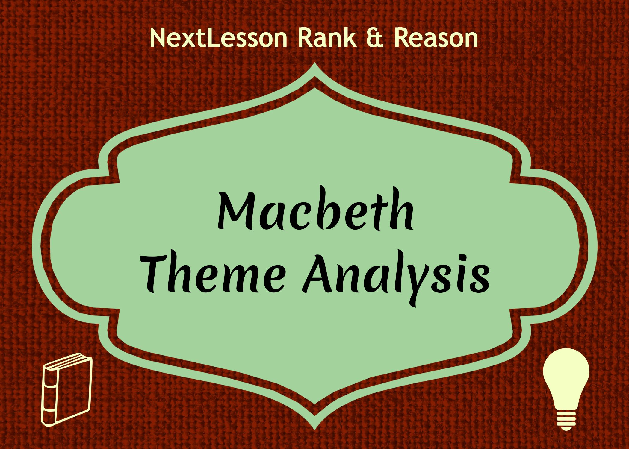 Macbeth Themeysis