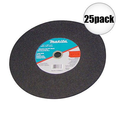 Grinding Wheels and Accessories 79703: Makita 25Pk 14 X 7 64 X 1 Cut Off Wheels B-10849 New -> BUY IT NOW ONLY: $89.5 on eBay!