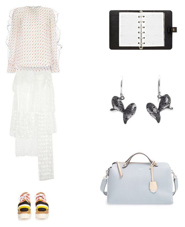 """""""Grace"""" by zoechengrace on Polyvore featuring Chloé, Alice McCall, Mulberry, NOVICA, STELLA McCARTNEY and Fendi"""