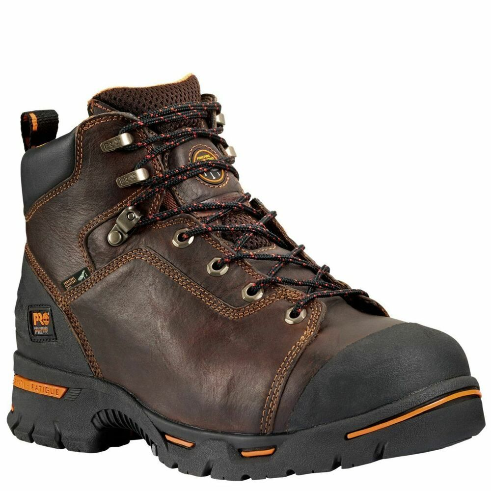 Details About Timberland Pro Boots Mens Endurance 6 Steel Toe