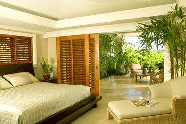 Shutter Doors Design Ideas Pictures Remodel And Decor Page 7 Tropical Bedrooms Bedroom Design Outdoor Bedroom