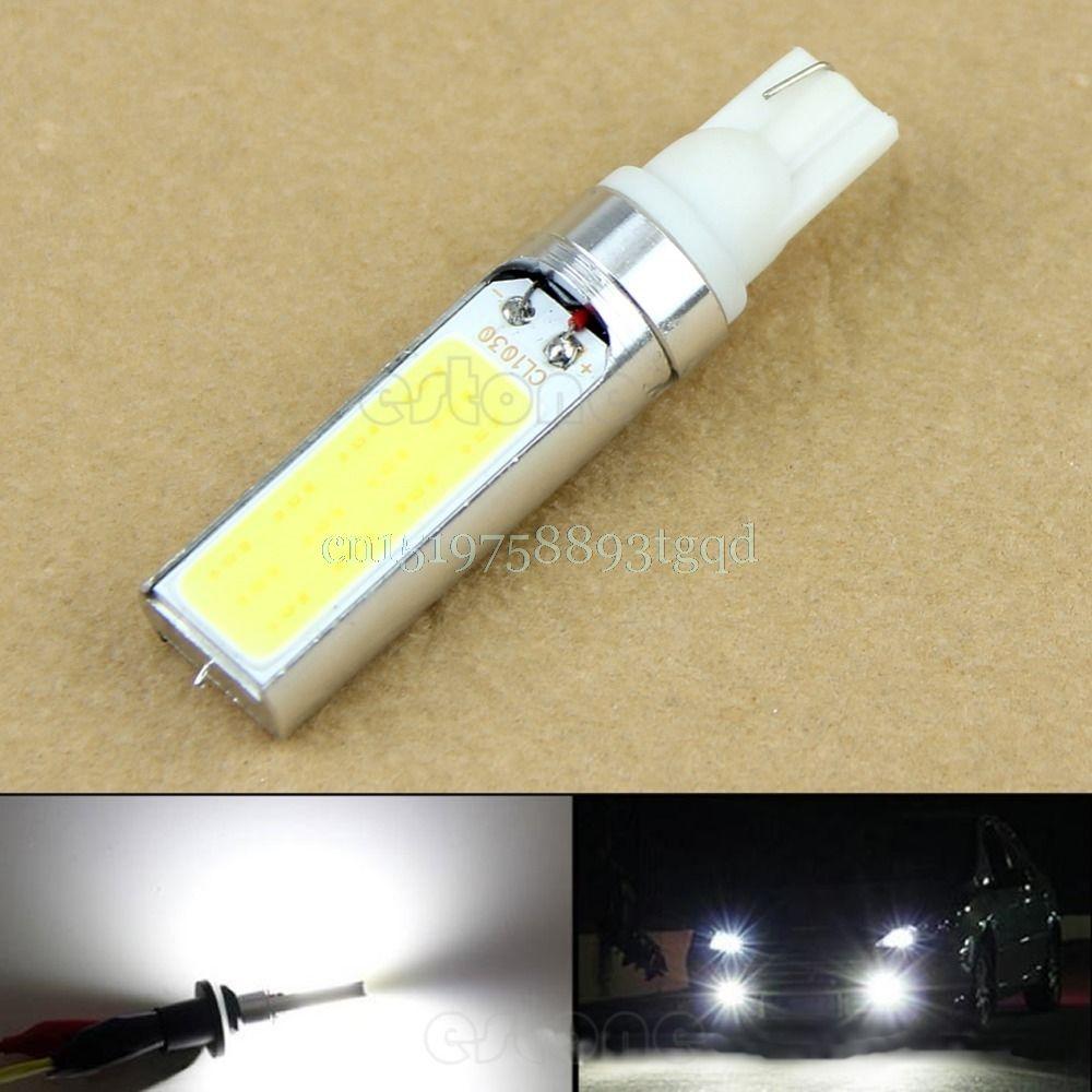 Dc 12v T10 10w 194 168 W5w Cob Led Super White Light Backup Fog Lamp New T518 White Led Lights Led Lights Car Lights
