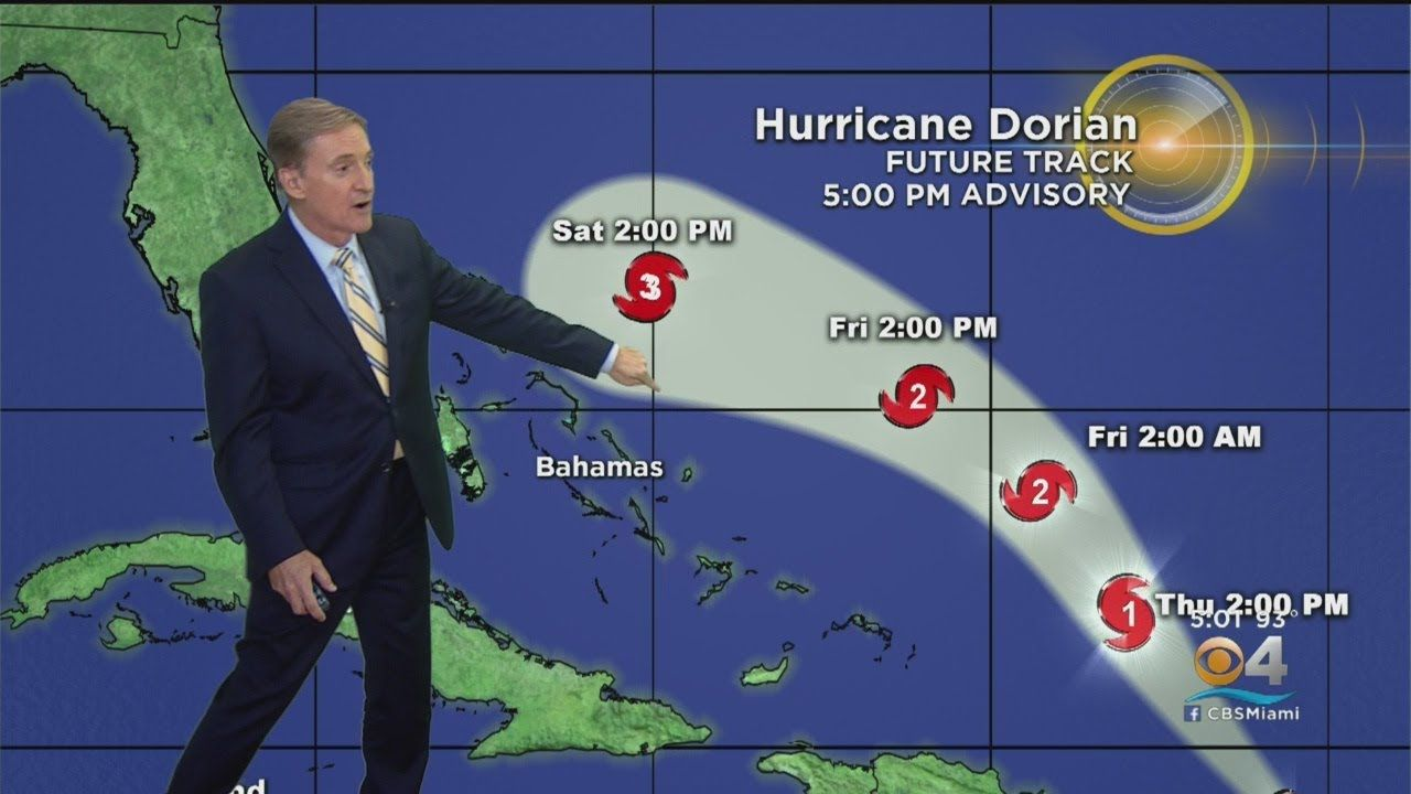 Tracking Hurricane Dorian Hurricane World Weather Politics