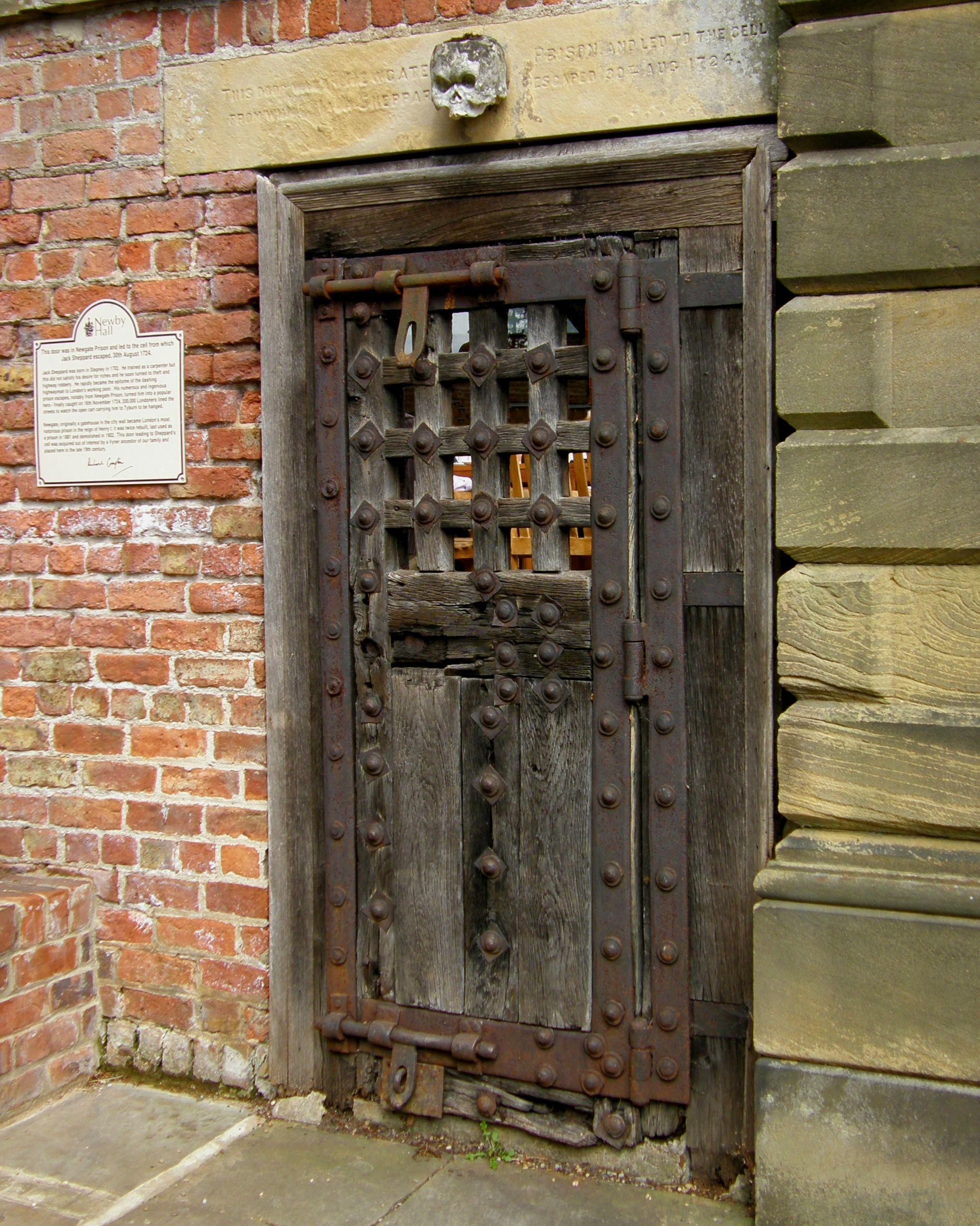 Old Jail Door Doors To Doors House Doors Door Gate