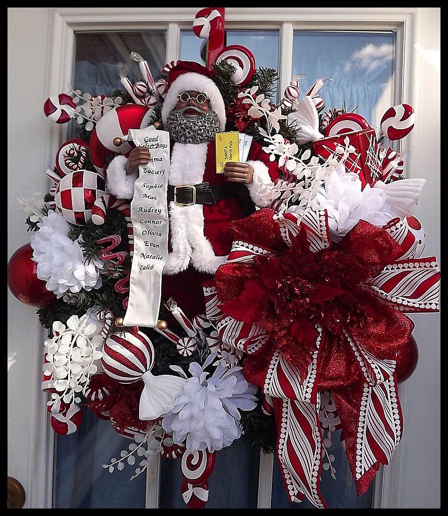 African American Christmas Ornaments Keepsake  Christmas wreaths
