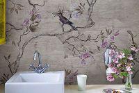 behang voor de badkamer