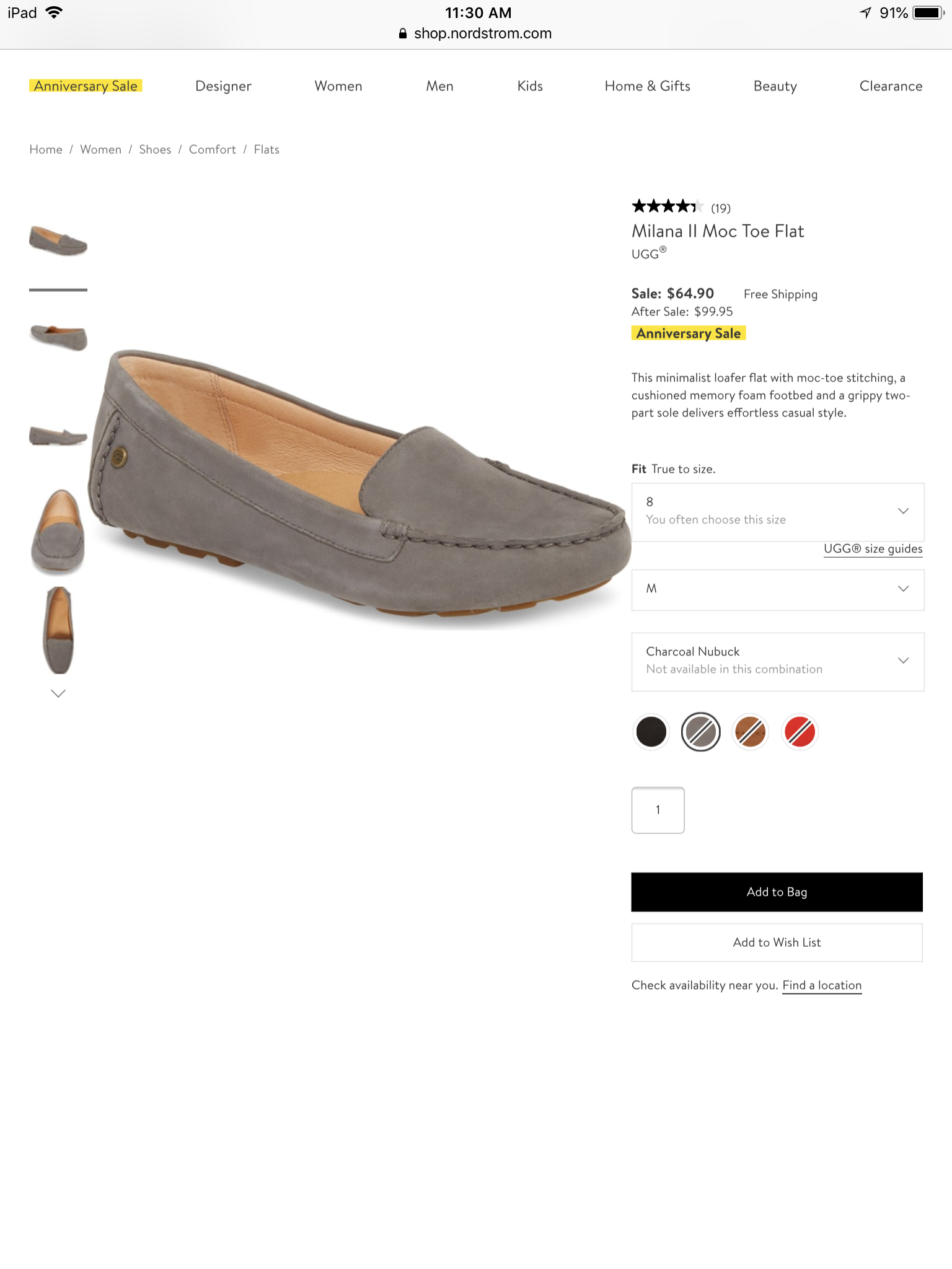d29283dc9c4 Ugg Milana II moc toe flat | Clothes | Shoes, Uggs, Loafers