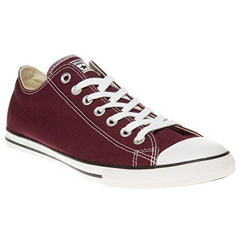 Converse Chuck Taylor All Star Lean Herren Sneaker Dunkel Rot - http://on
