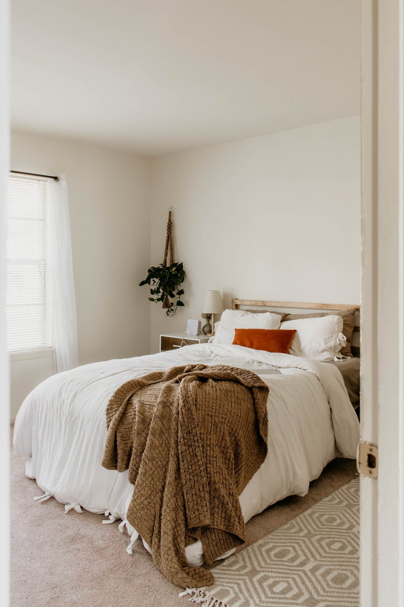 Apartment Tour! Scandinavian bedroom decor, First