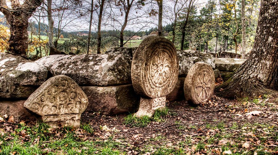 Magic Symbols In Ancient Christian Tombs And Steles Under The