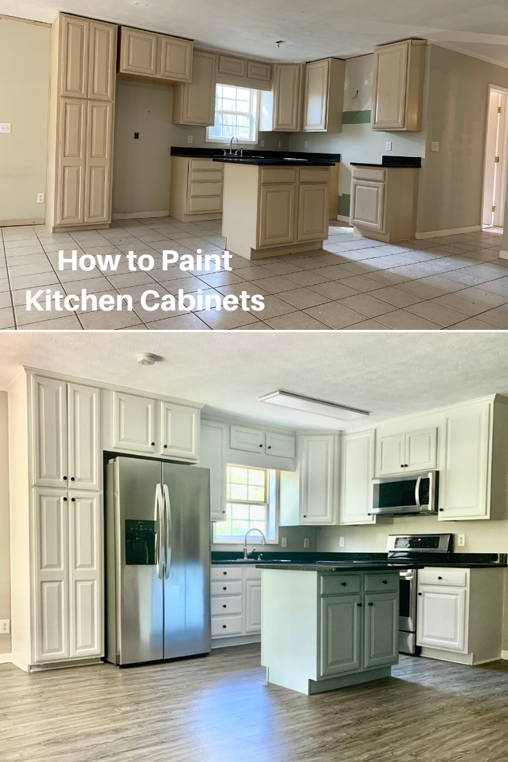 How To Paint Kitchen Cabinets In 2020 Kitchen Cabinets Painting Kitchen Cabinets Kitchen Paint