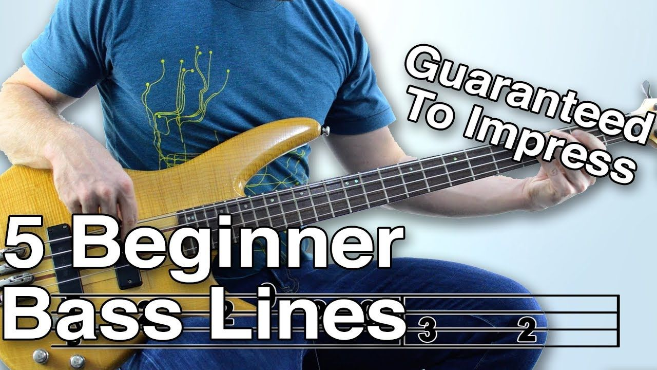 5 beginner bass lines guaranteed to impress with tabs