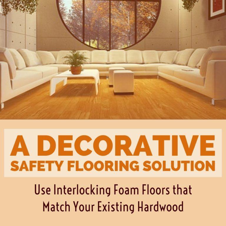 Interlocking Foam Wood Flooring Match Your Existing Hardwood Floors Playroom Flooring Foam Flooring Flooring